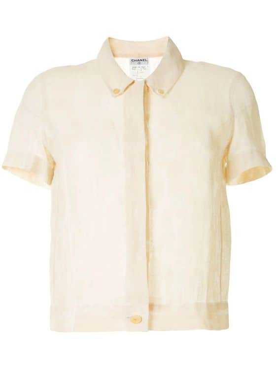 Chanel Pre-Owned 1999 Short Sleeve Shirt