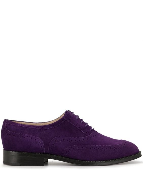 Chanel Pre-Owned CC textured brogues