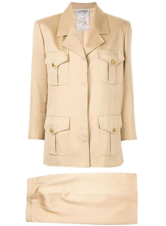 Chanel Pre-Owned Setup Skirt Suit Vintage