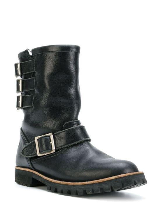 Comme Des Garçons Pre-Owned biker boots
