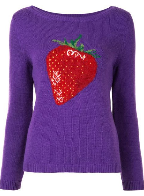Gucci Pre-Owned Sylvie Web Patches Jumper