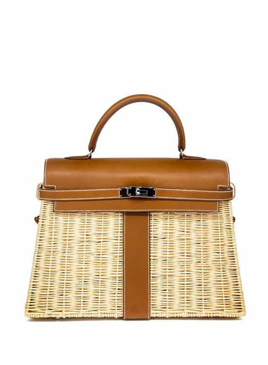 Hermès 2011'S Kelly 35Cm Picnic Bag