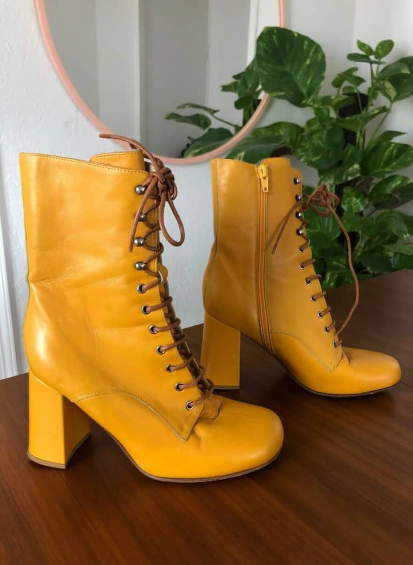 MARYAM NASSIR ZADEH LACE UP BOOT