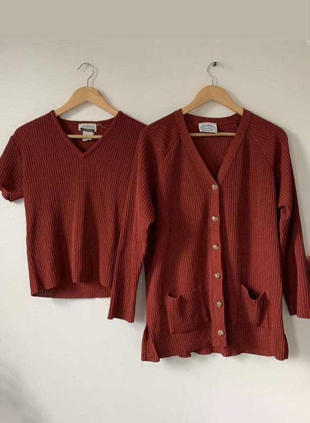VINTAGE TWO PIECE SWEATERS (1)