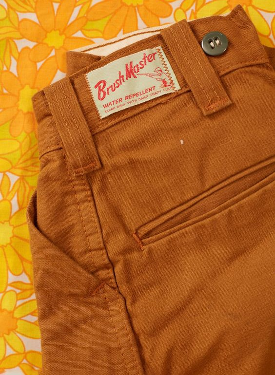 BRUSH MASTER JEANS RUST