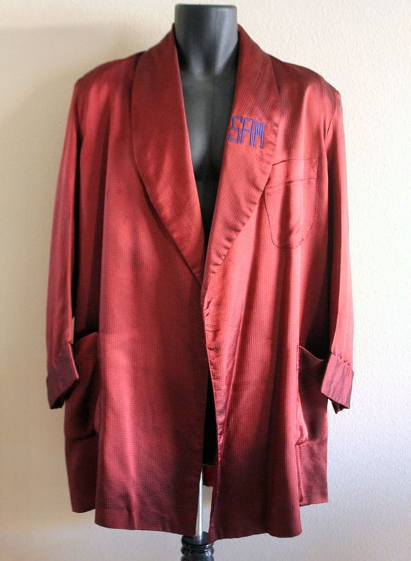 VINTAGE 1950S RED ROBE BY STAFFORD