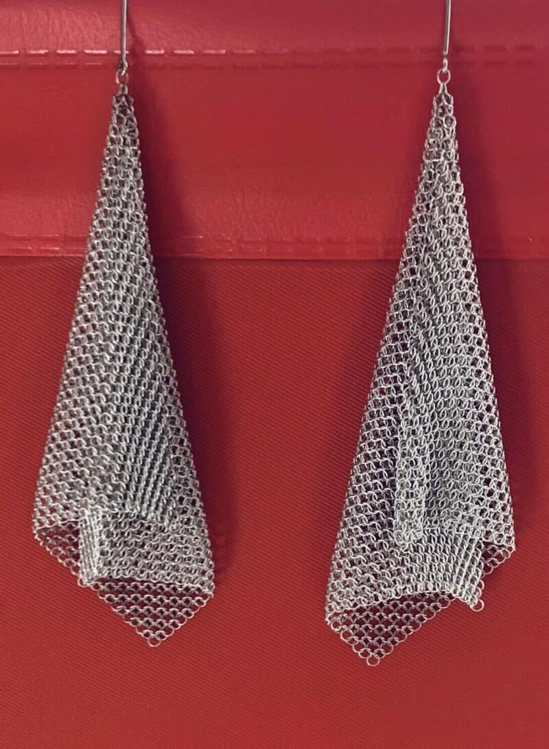 Authentic Tiffany and Company Mesh Earrings