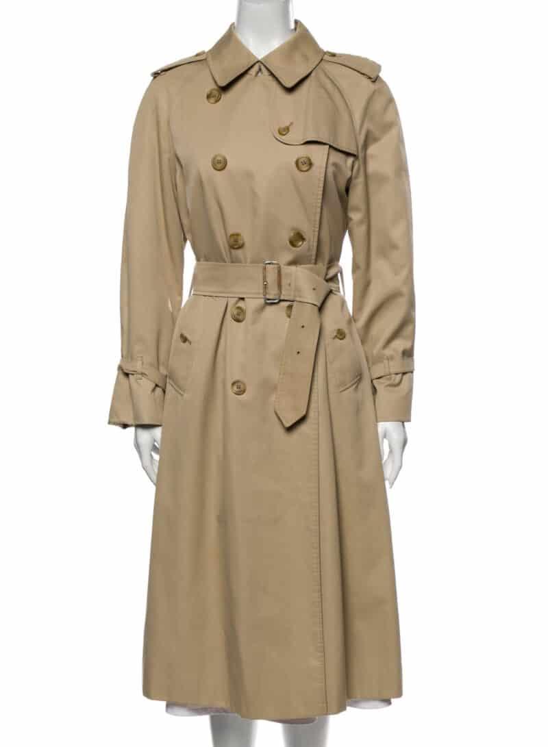 BURBERRY Vintage Trench Coat KHAKI