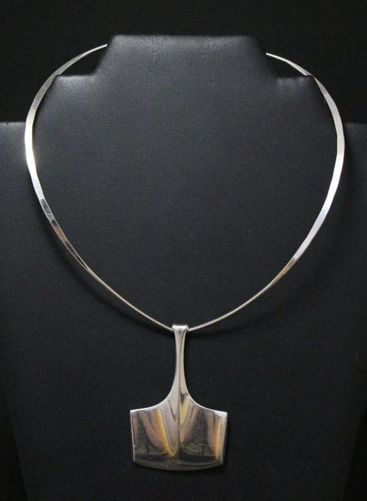 Bjorn Sigurd Ostern for DAVID ANDERSON Thor's Hammer Necklace