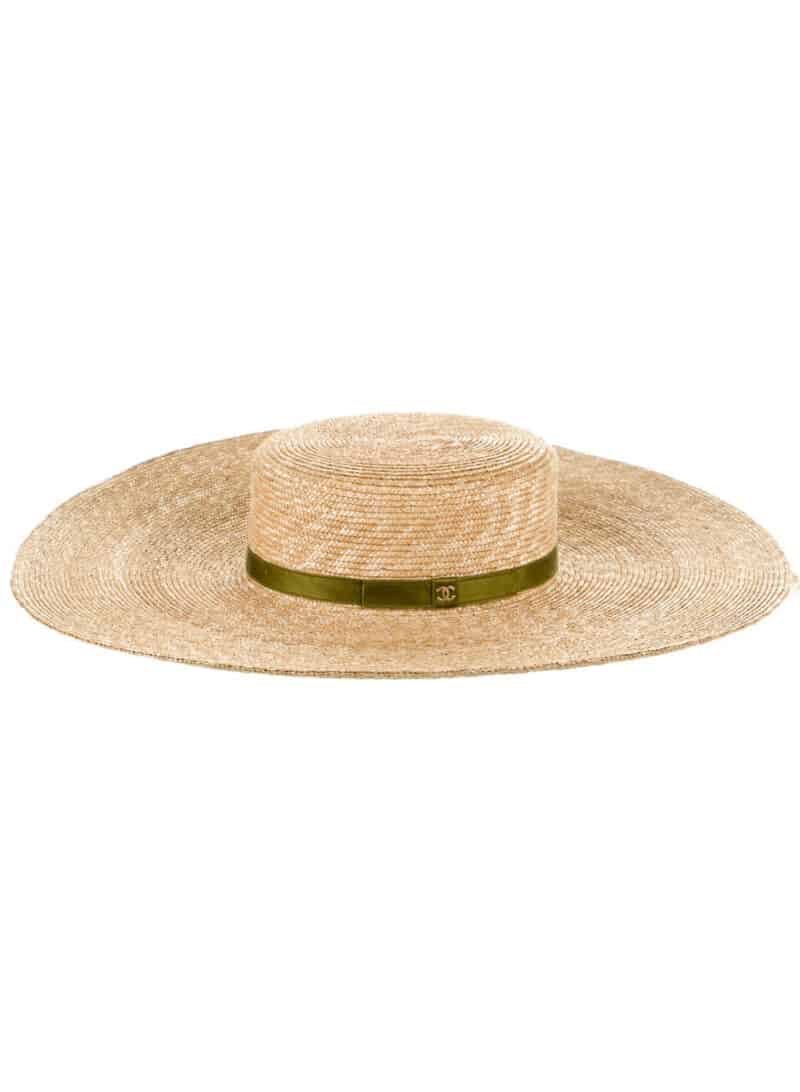 CHANEL 2020 Straw Hat