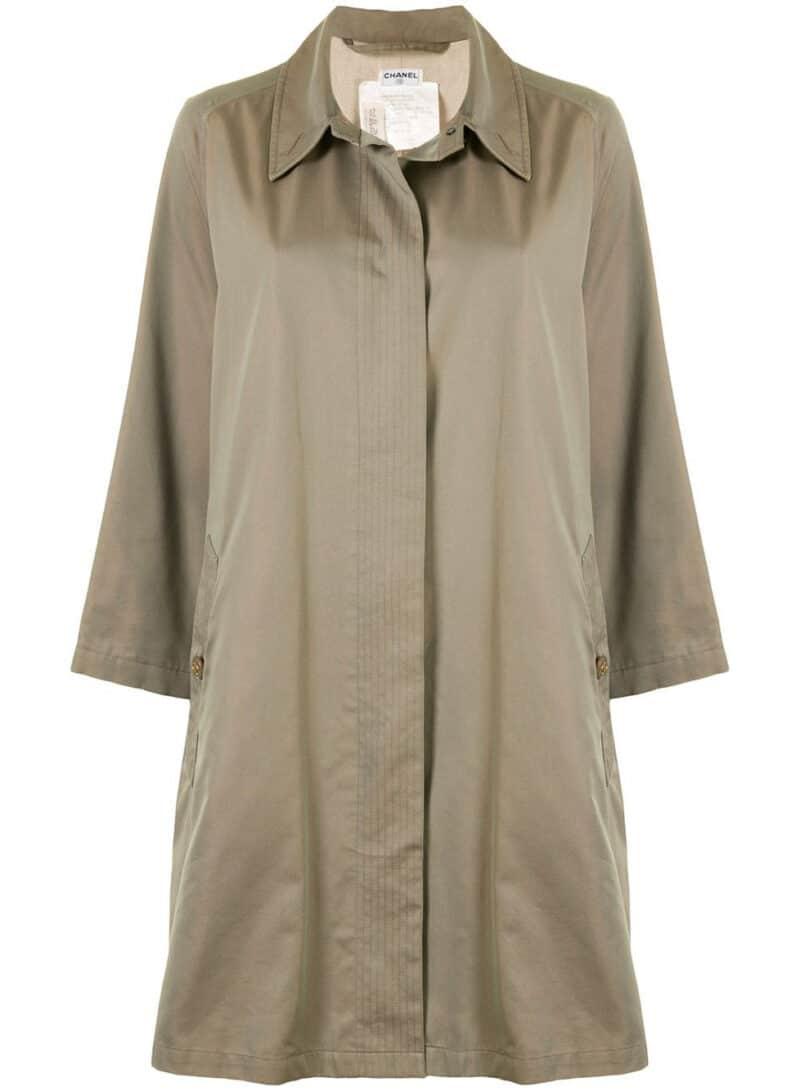 CHANELthigh-length shift coat