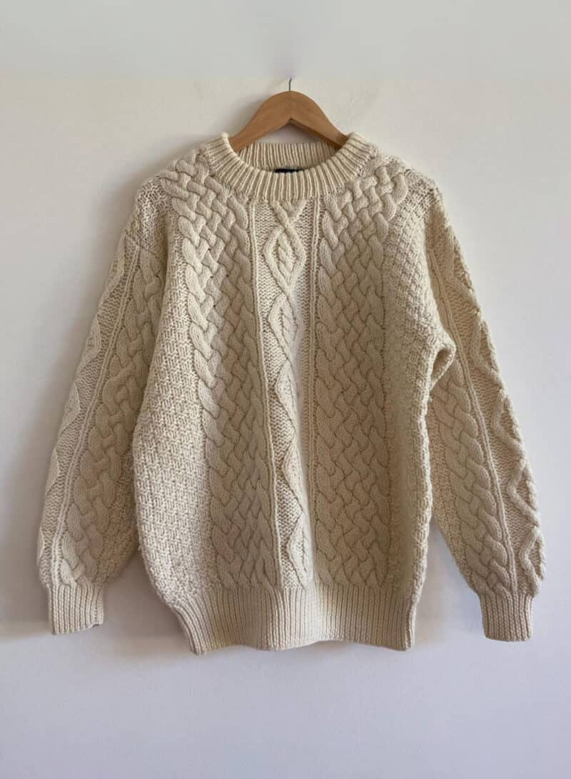 FISHERMAN_VINTAGE CABLE KNIT