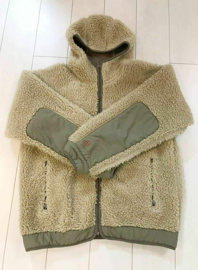 Patagonia Fleece jacket USA made rhythm series hoodie classic retro khaki