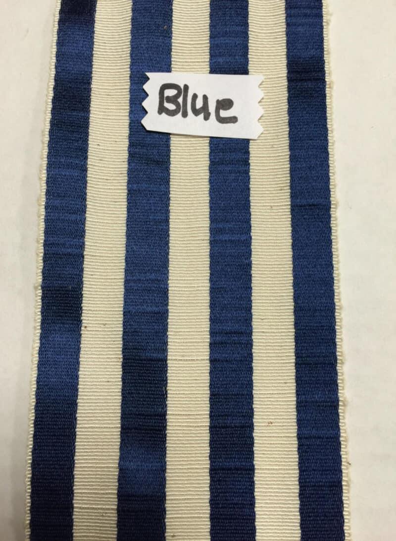 VINTAGE BLUE FRENCH RIBBON