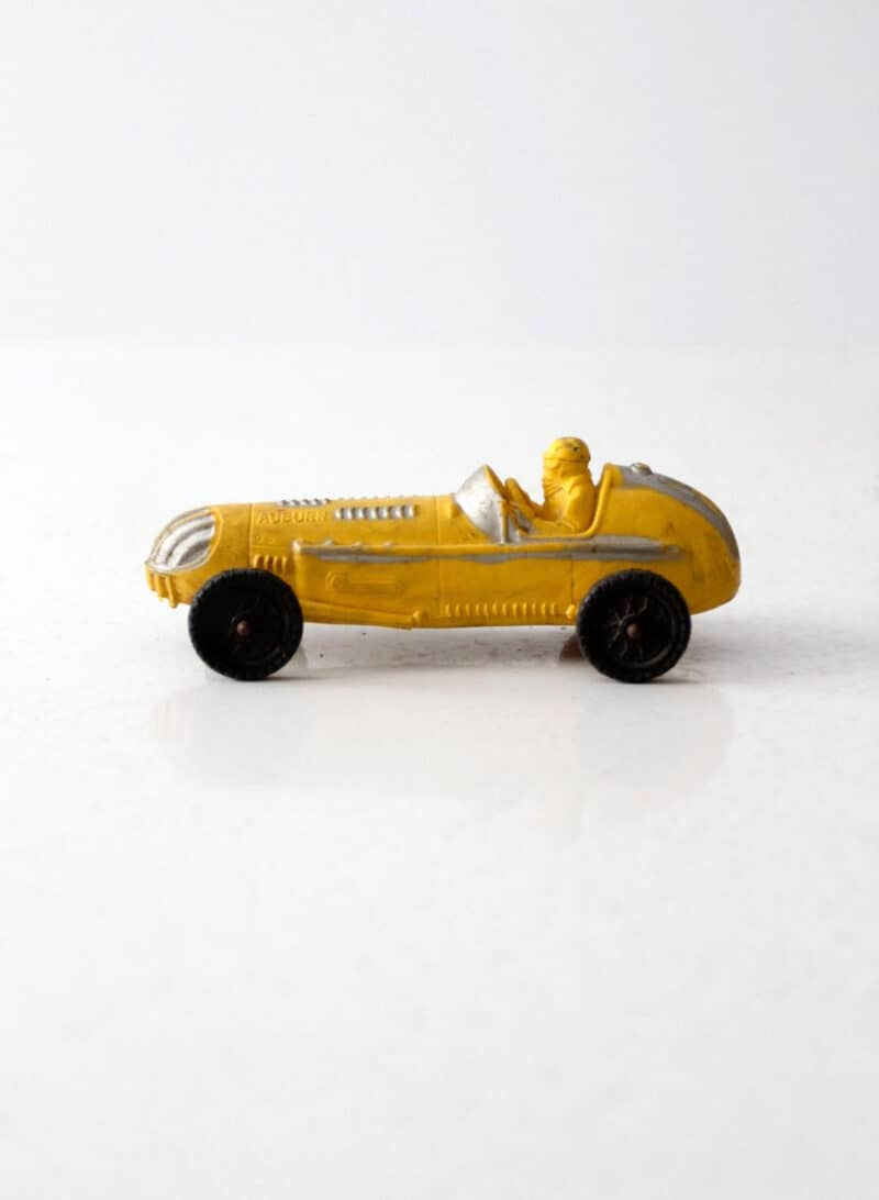 VINTAGE INDY STYLE RACECAR TOY