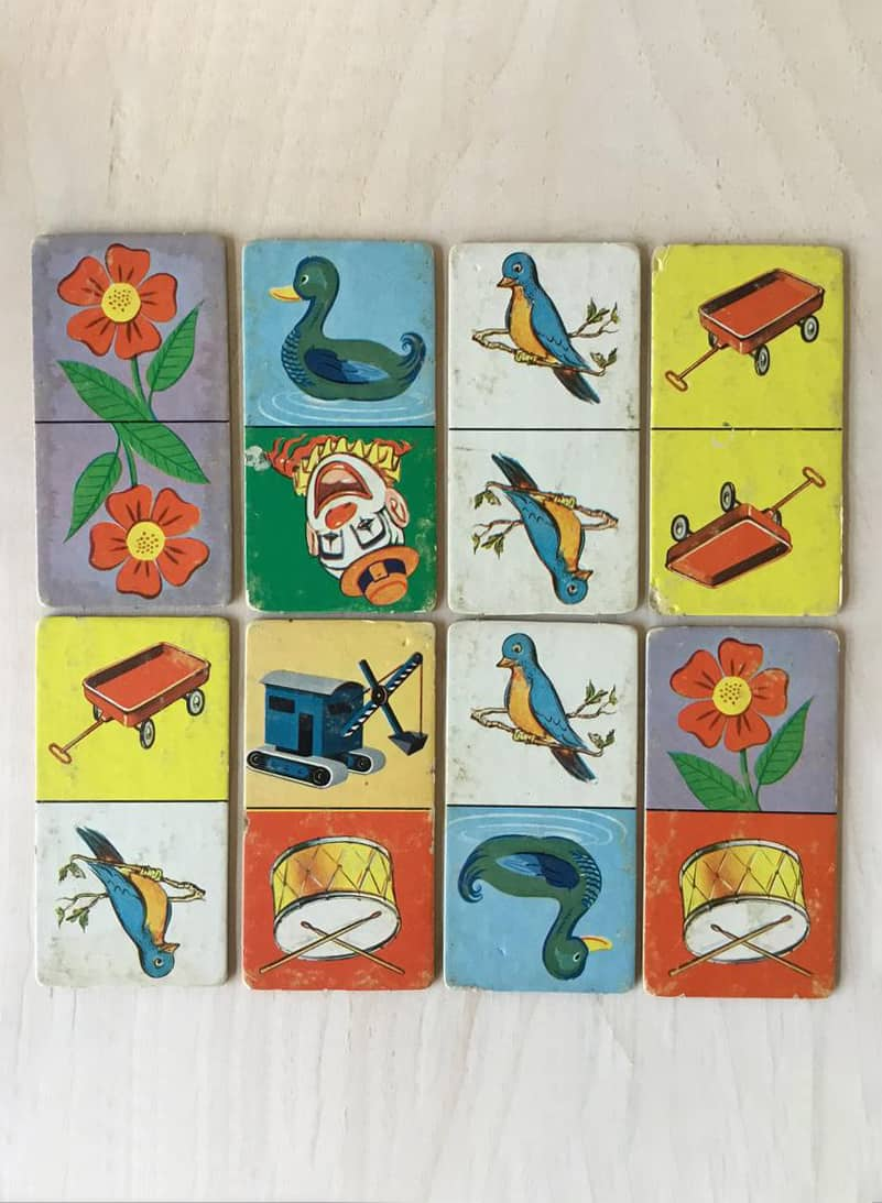VINTAGE MATCH GAME PLAYING CARDS