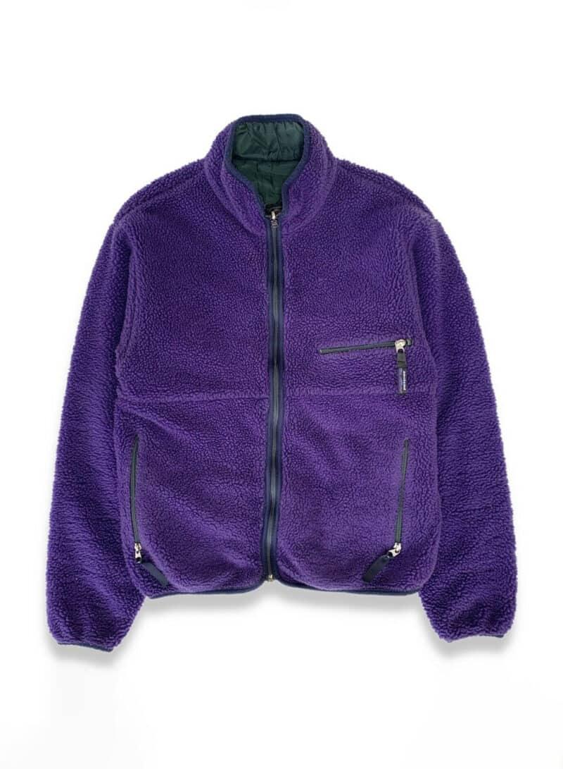 Vintage 1994 Patagonia Reversible Glissade Jacket M Sherpa Retro X Purple Green