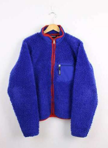 Vintage 2000 PATAGONIA CLASSIC RETRO CARDIGAN Jacket Blue Red