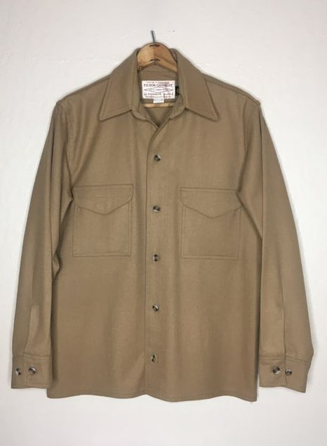 FILSON BEIGE BUTTON UP