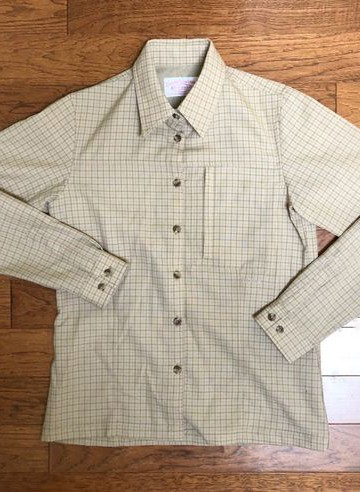 FILSON GRID BUTTON UP