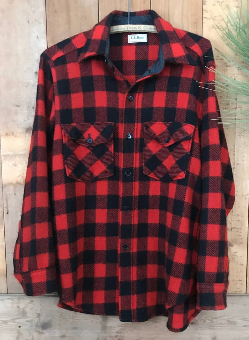 RED PLAID L.L