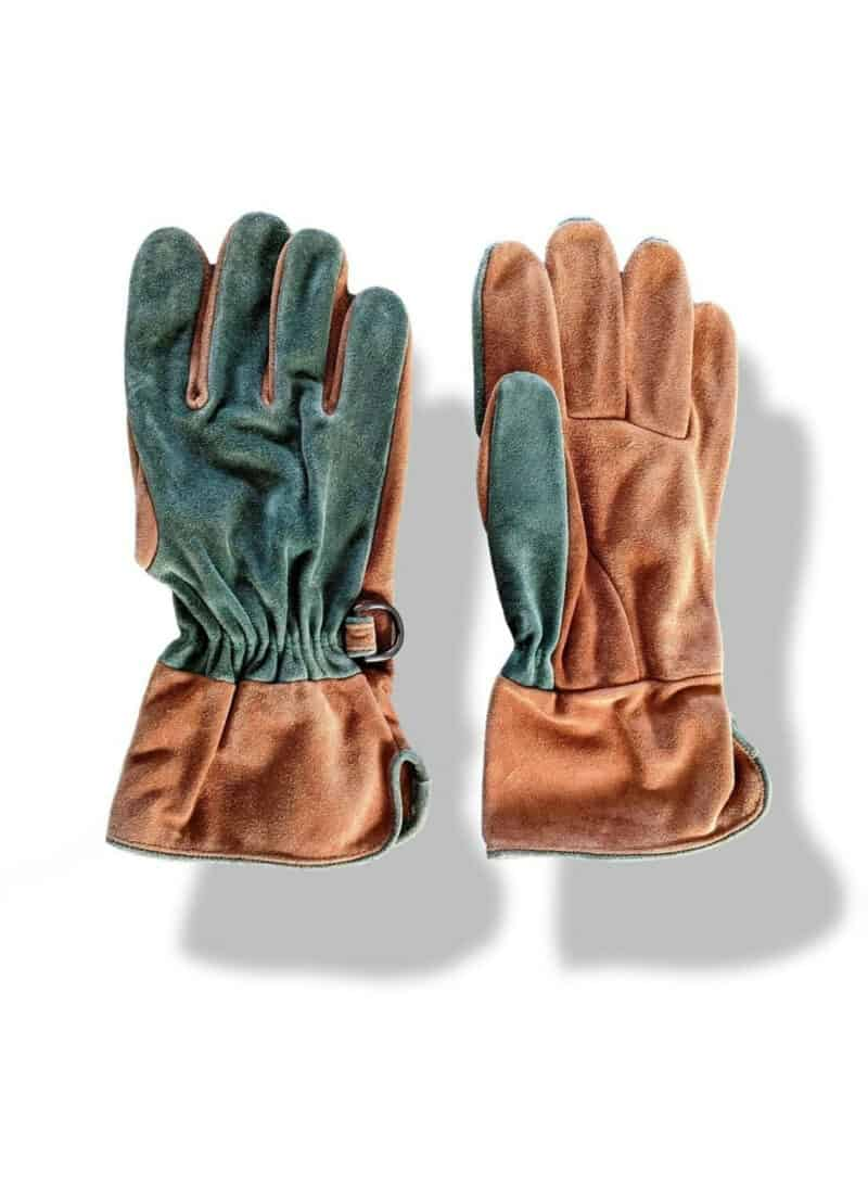 GARDENING TWO TONED GLOVES
