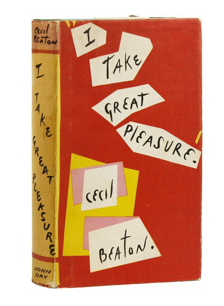 I TAKE GREAT PLEASURE CECIL BEATON