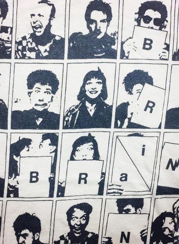 Brian Brain Shirt. No wave, XL Hanes beefy tee