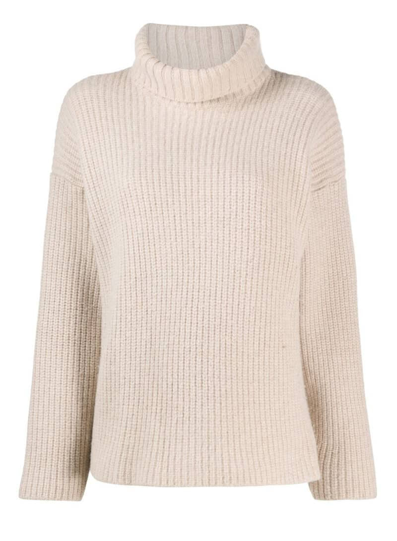 DOLCE & GABBANA CREAM TURTLENECK