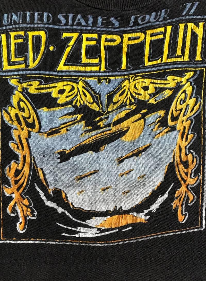 LED ZEPPELIN 1977 TOUR TEE 2