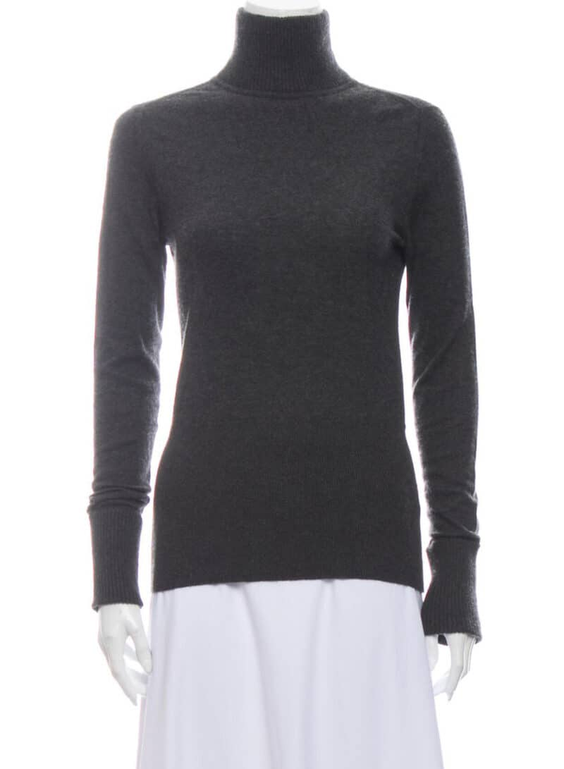 MARC JACOBS GREY TURTLE NECK