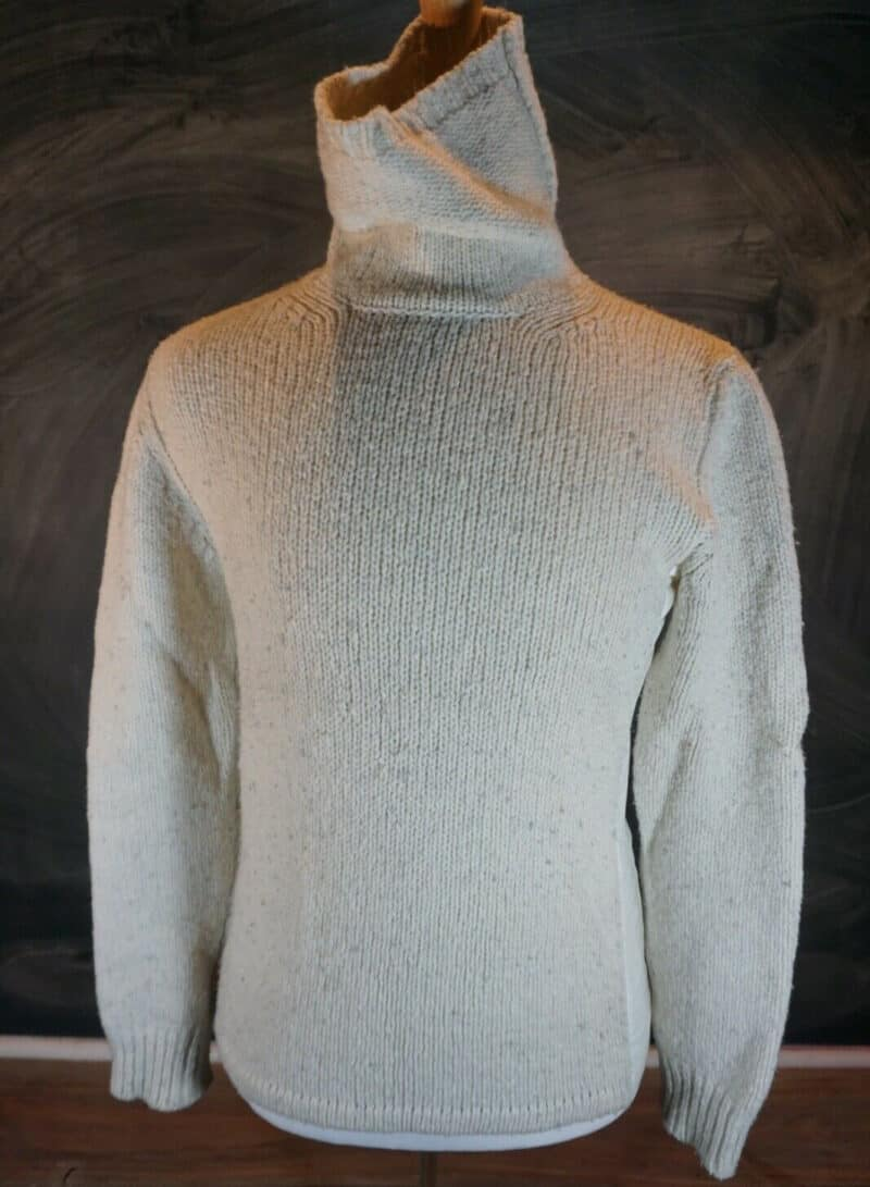 PRADA OATMEAL TURTLENECK