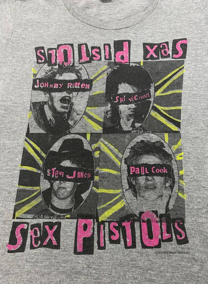 SEX PISTOLS BAND TEE 2