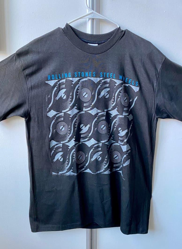 Vintage ROLLING STONES 1989 Tour Shirt - Dead Stock