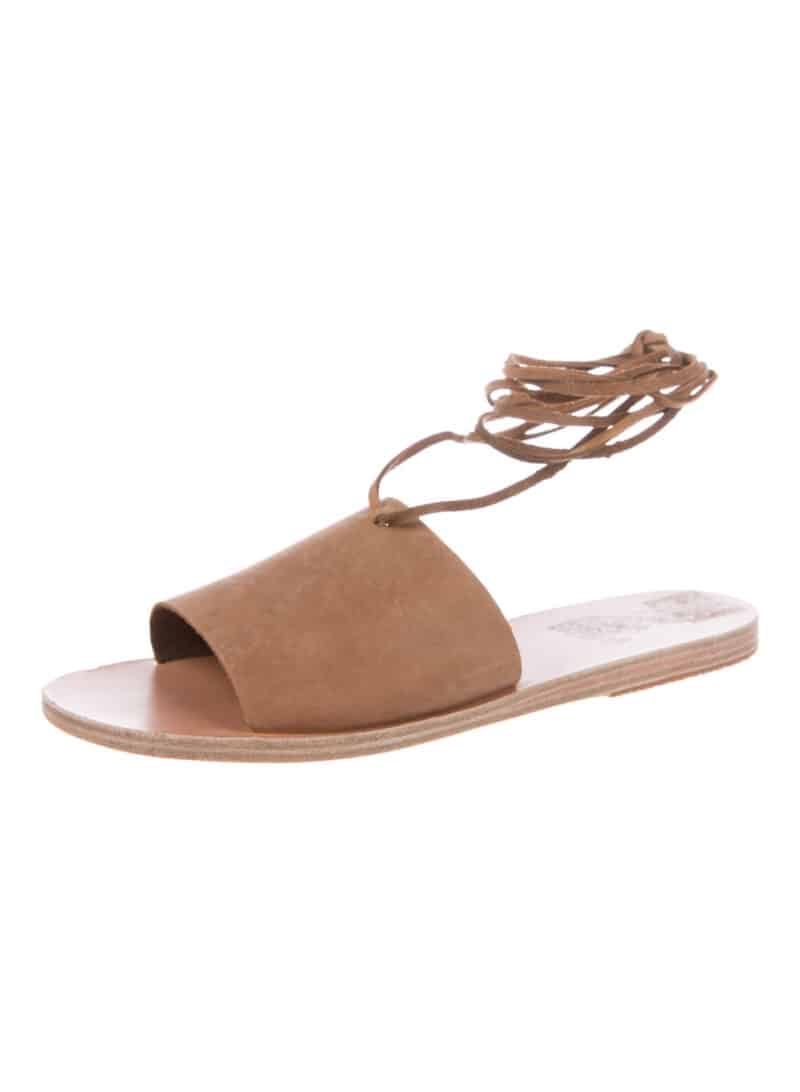 ANCIENT GREEK SANDALS Suede Sandals