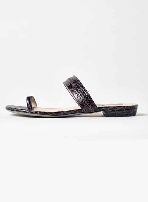 ARMANI TOE RING SANDAL