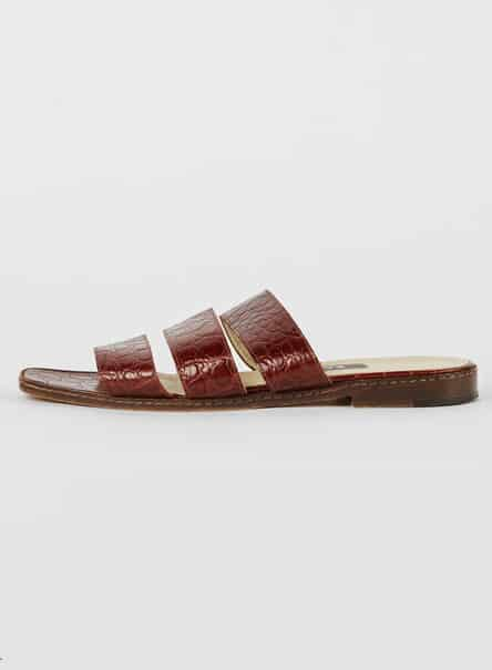 BALLY TRIPLE STRAP SLIDE