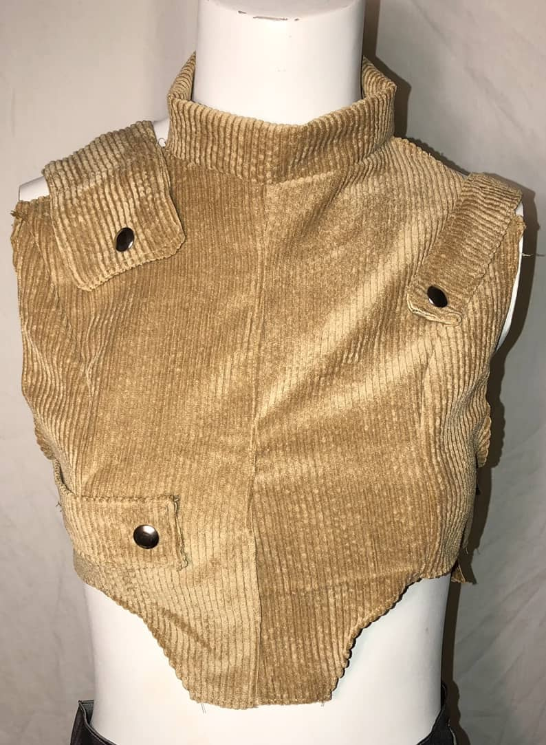 ELLEVAN Corduroy Utility Vest