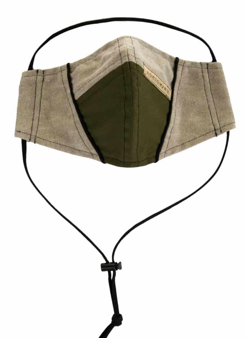 ROMEO HUNTE Green Khaki Mask