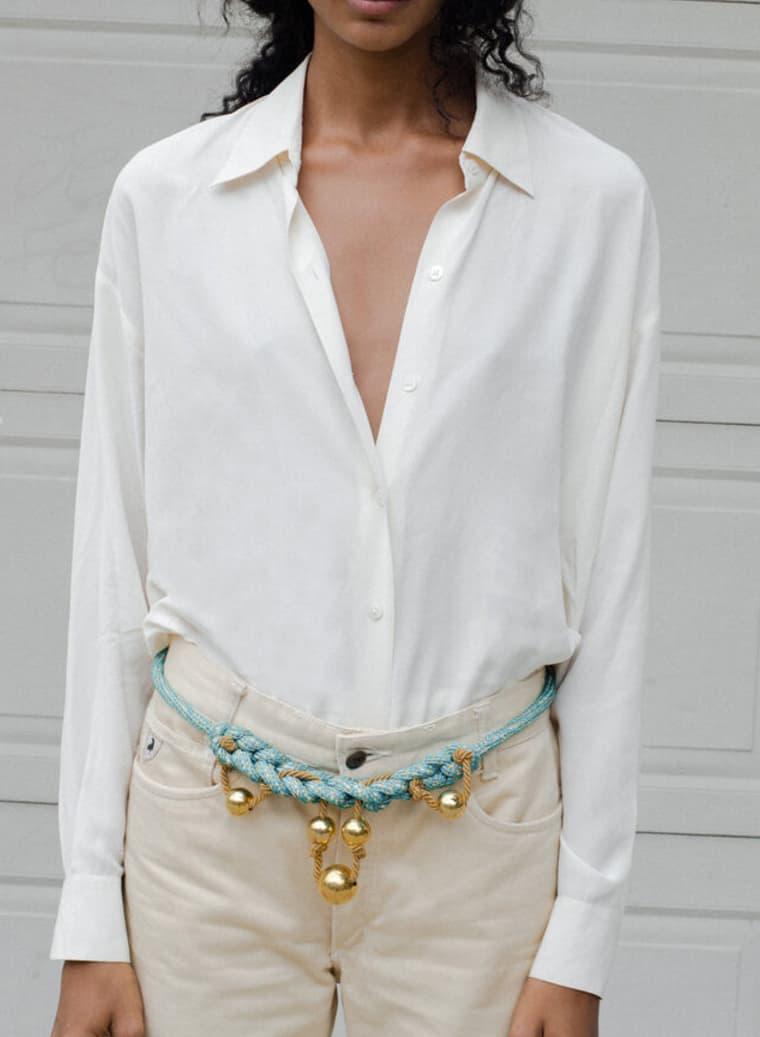 Vintage DKNY-Silk-Bodysuit