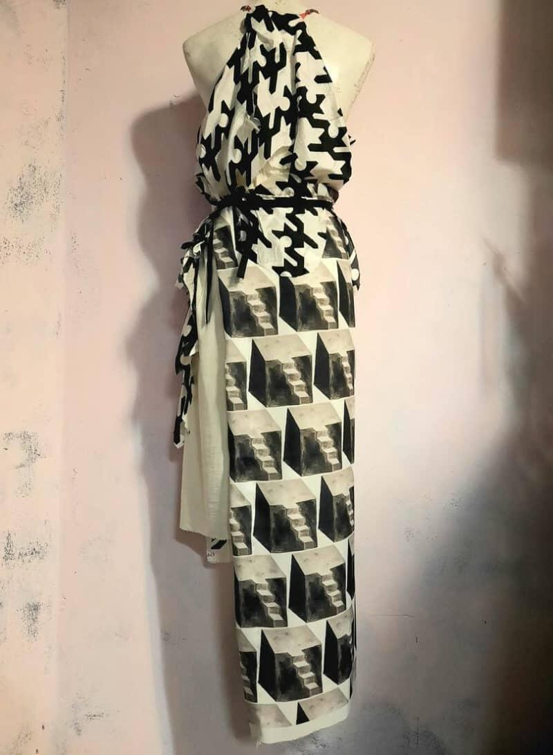 vintage reworked dress