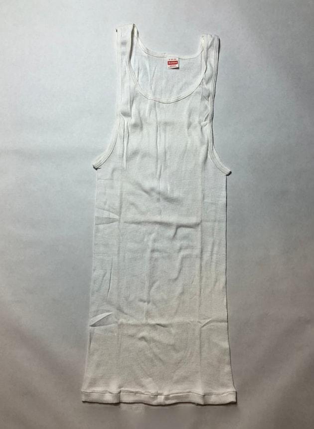 1980s Healthknit Men's ribbed undershirt