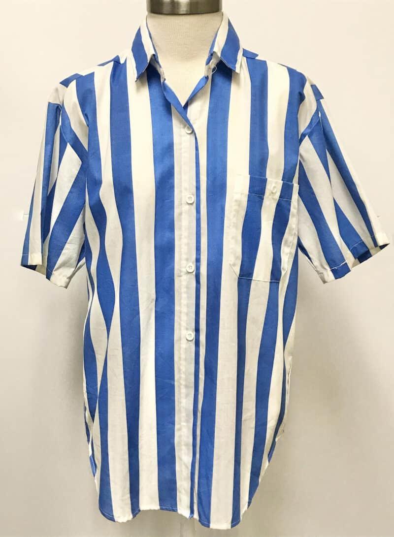1980s Short Sleeve Button Up1980s Short Sleeve Button Up