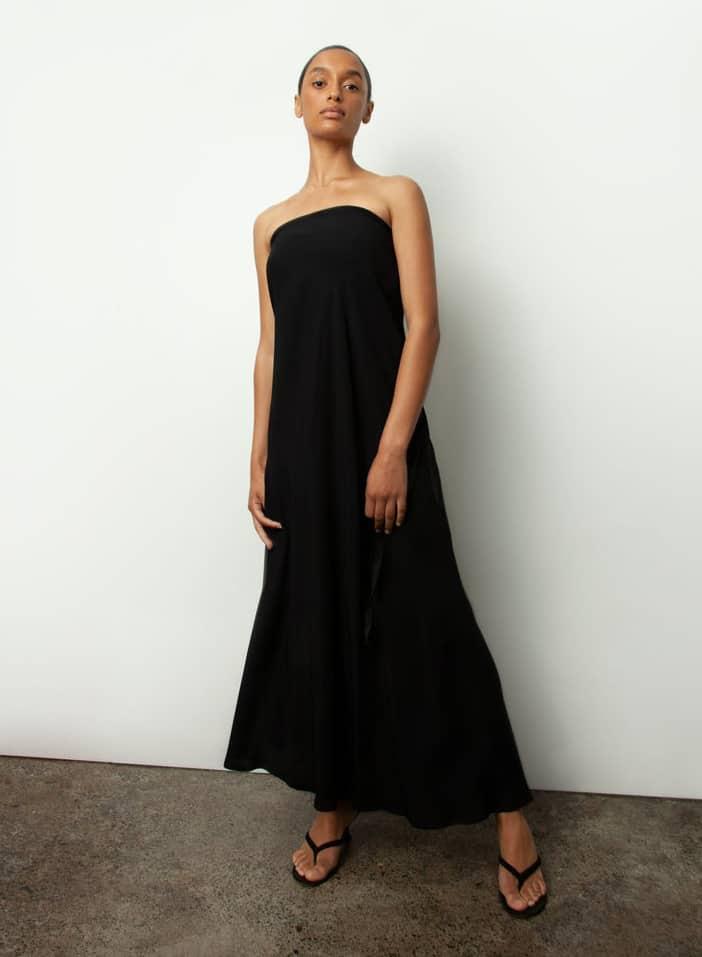 Ann Demeulemeester black bias skirt 2