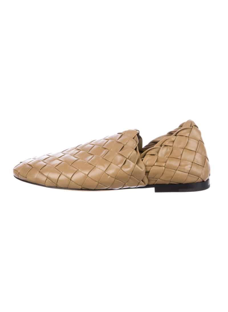 BOTTEGA VENETA The Slipper Intrecciato Weave Loafers 2