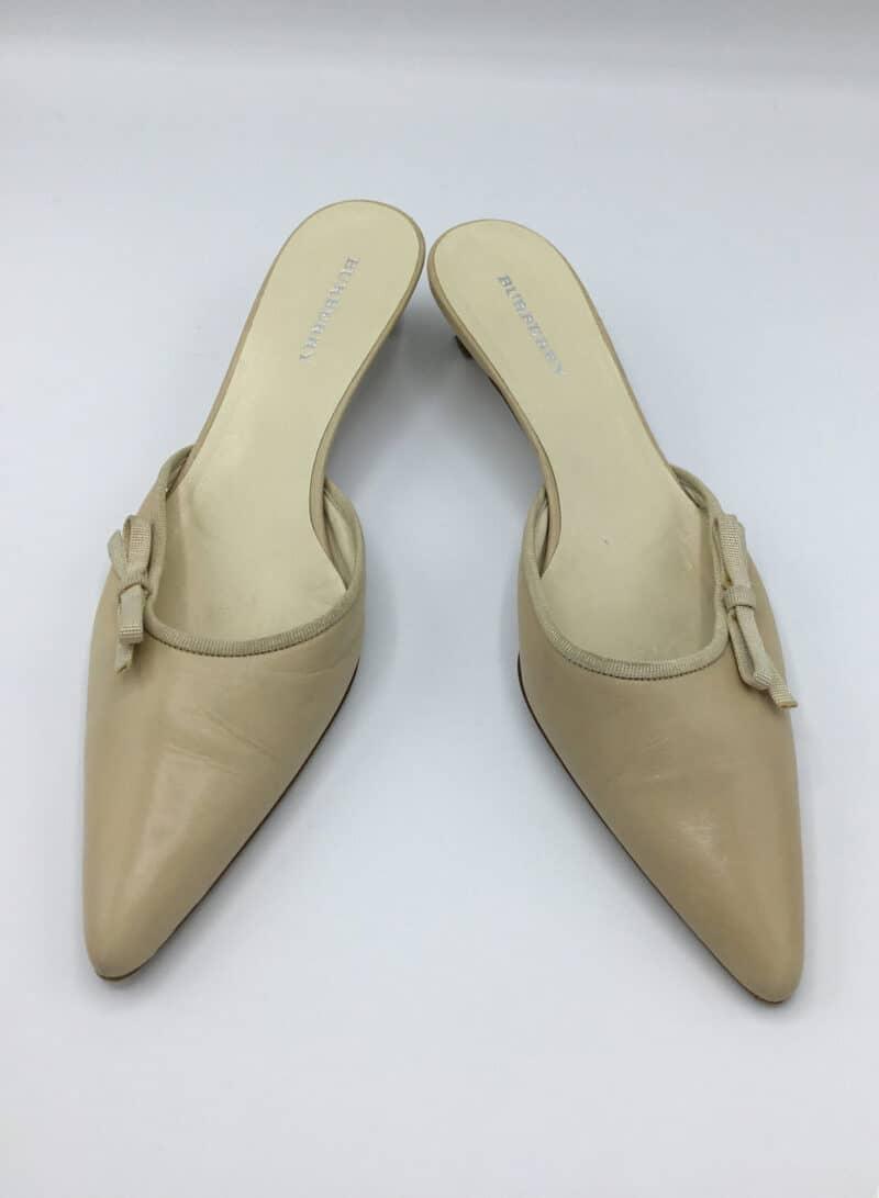 Burberry kitten heels