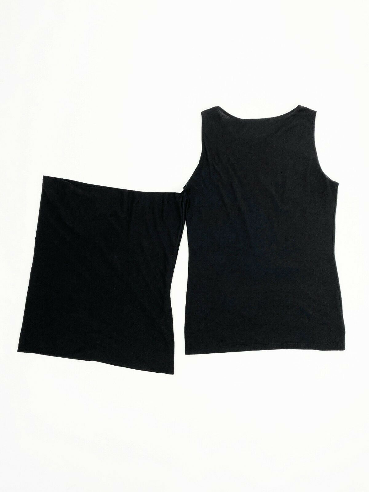 HELMUT LANG 90s Layered Tube Tank