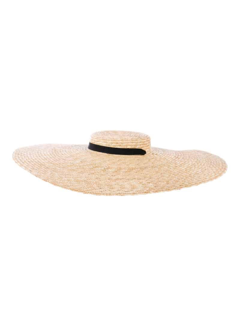 JACQUEMUS Straw Wide Brim Hat w: Tags