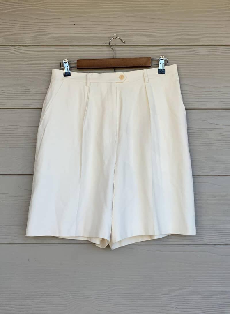 Vintage Silk Shorts Ralph Lauren
