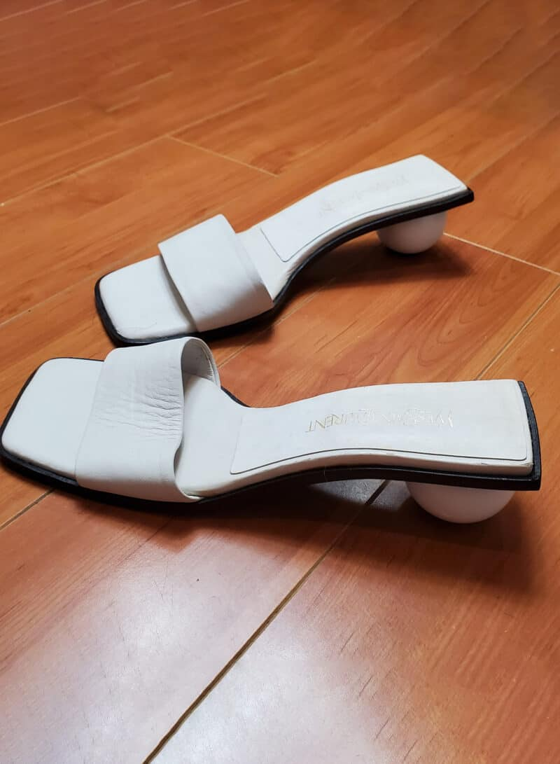 YSL Tom Ford era 90s Sandals SIZE 5
